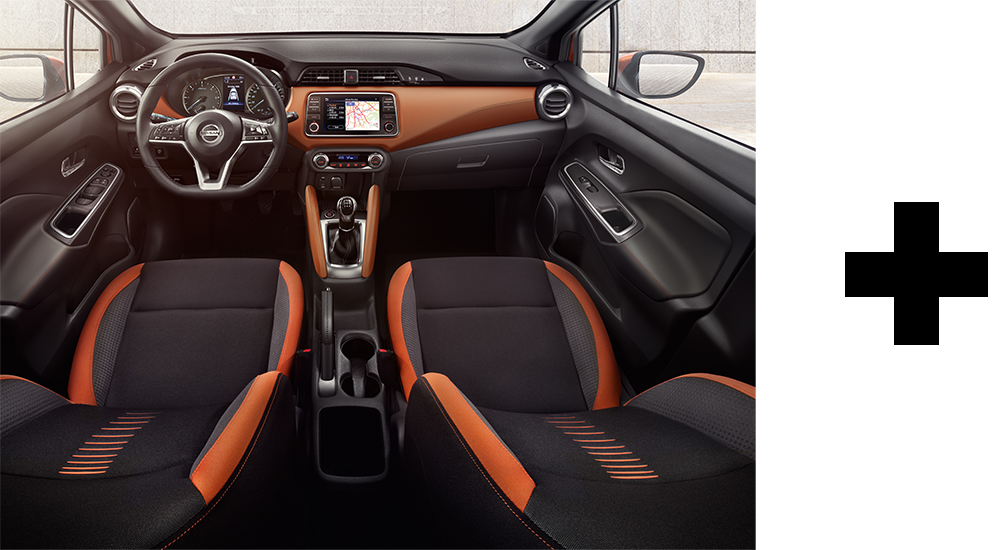 Nissan Micra Interior Personalisation Choices